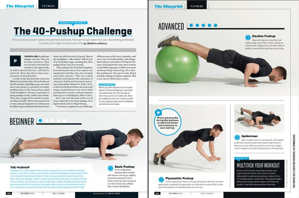 Blueprint Fitness: Pushup challenge